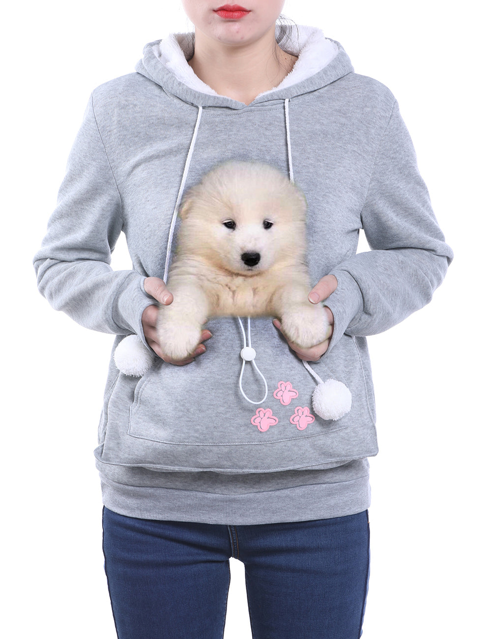 Cuddle Pouch Pet Hoodie