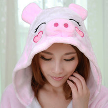 Load image into Gallery viewer, Pink Pig Onesie Kigurumi Animal Pajamas