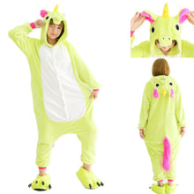 Load image into Gallery viewer, Green Pegasus Onesie Kigurumi Pajamas