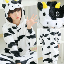 Load image into Gallery viewer, Cow Onesie Kigurumi Pajamas