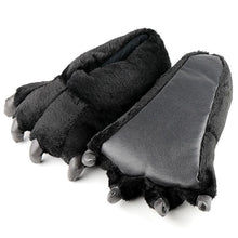 Load image into Gallery viewer, Bear Claw Slippers