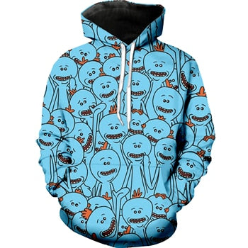 Mr. Meeseeks Rick and Morty Hoodie