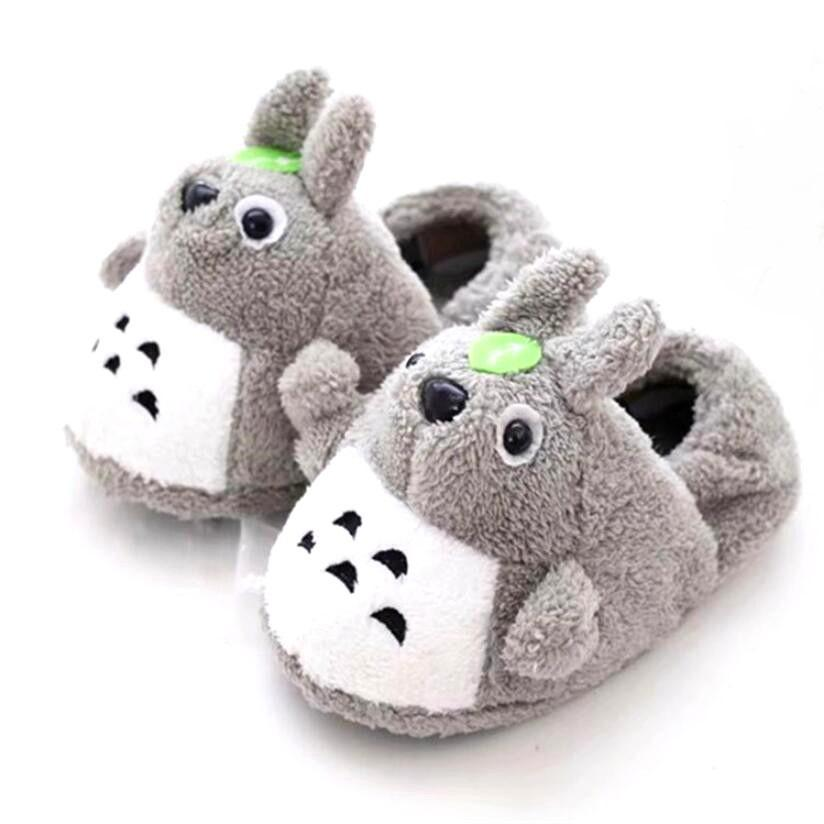 Totoro Anime Plush Slippers