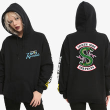 Load image into Gallery viewer, Welcome to Riverdale South Side Serpents Hoodie Sweatshirt