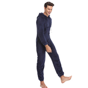 Men's Fleece Onesie Pajamas