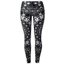 Load image into Gallery viewer, Black Mandala Leggings