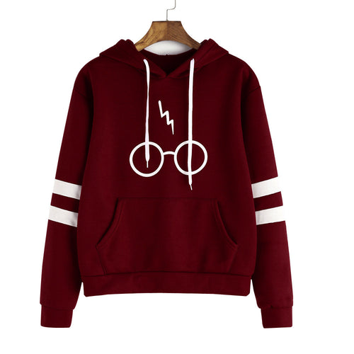 Harry Potter Lightning Bolt Hoodie Sweatshirt