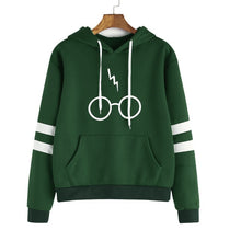 Load image into Gallery viewer, Harry Potter Lightning Bolt Hoodie Sweatshirt