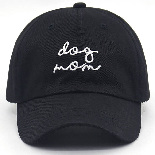 Dog Mom Adjustable Dad Hat