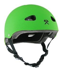 S-ONE MINI LIFER HELMET MATTE BRIGHT GREEN