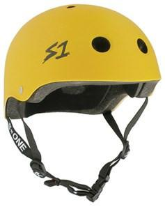 S1 LIFER HELMET MATTE YELLOW