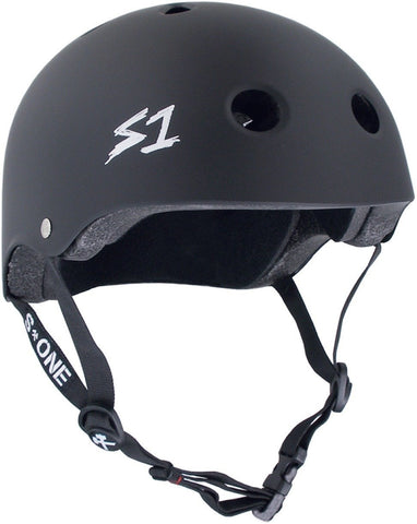 S-ONE MEGA LIFER HELMET MATTE BLACK (***Larger version of the Lifer)
