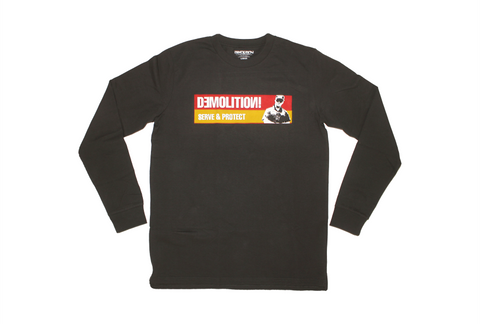 DEMOLITION SERVE & PROTECT L/S SHIRT