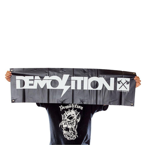 VOLUME AND DEMOLITION BANNERS