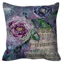 "Load image into Gallery viewer, ""Take A Waltz With Me' Outdoor Pillows Waltz"