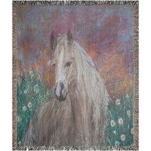 "Load image into Gallery viewer, ""Sally Mae"" Horse Woven Blankets"