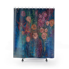 "Load image into Gallery viewer, ""Color My World"" Shower Curtain"