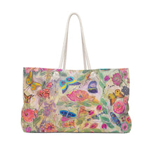 "Load image into Gallery viewer, ""You Give Me Butterflies"" Weekender Bag"