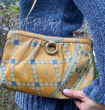 Load image into Gallery viewer, Vintage 1970's Morris Moskowitz Leather Floral Paisley Crossbody