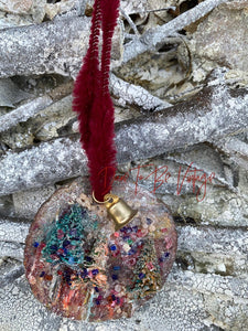 Whimsical Rustic Style Ornament Christmas Trees Shipping Included