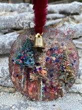 Load image into Gallery viewer, Whimsical Rustic Style Ornament Christmas Trees Shipping Included