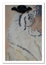 Load image into Gallery viewer, 'The Eye Of The Tiger ' Fine Art Print 8 X 12