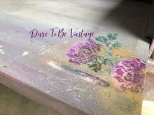 Load image into Gallery viewer, SOLD Hand Painted Whimsical Floral Desk