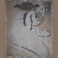 Load image into Gallery viewer, 'Eye Of The Tiger' Woven Blankets