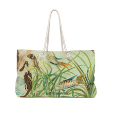 "Load image into Gallery viewer, ""Under The Sea"" Weekender Tote Bag"