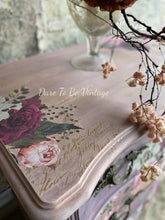 Load image into Gallery viewer, SOLD Romantic Floral Bombay Vintage Dresser