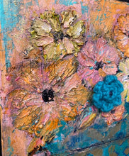 Load image into Gallery viewer, 'Flourish' Original Abstract Floral 8 X 10