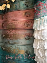 Load image into Gallery viewer, SOLD Sante Fe  Southwestern Style Hand Painted Dresser