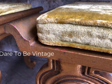 Load image into Gallery viewer, Rare Vintage Francisco Hurtado Hollywood Regency Console Table With Ottomans