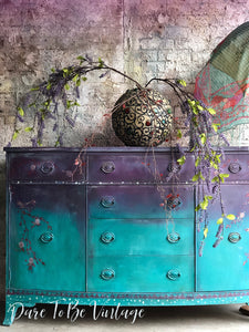 hand painted vintage furniture