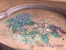 Load image into Gallery viewer, Sold 'Make Me Blush' Hand Painted Floral Vanity