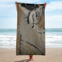 Load image into Gallery viewer, The Eye Of The Tiger Towel