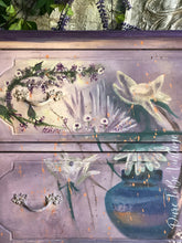 Load image into Gallery viewer, SOLD Hand Painted Floral Vintage Dresser