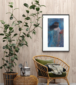 'The Secret Garden' Fine Art Print 8 X 14