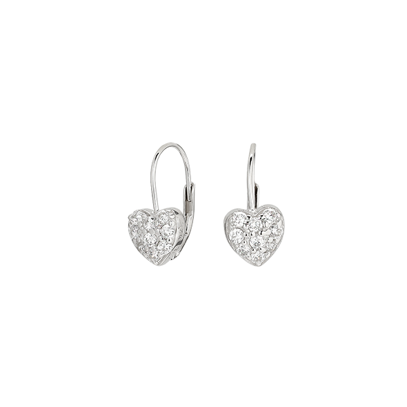 Clear Pure Love Earring