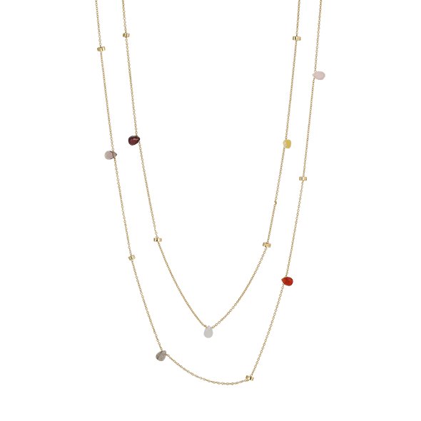 Multi Confetti Necklace