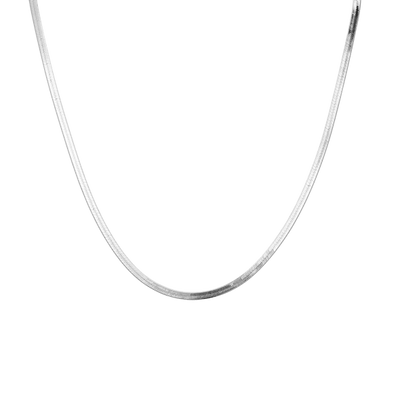 Flat Snake Necklace