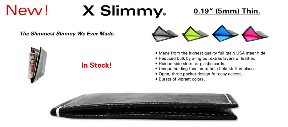 X Slimmy Ultra Slim Wallet