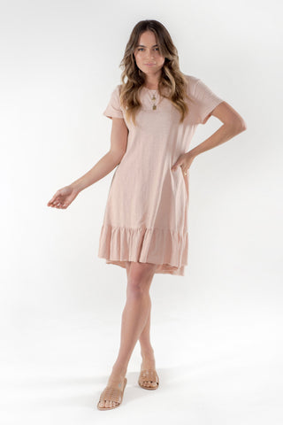 Brooklyn Dress - Blush