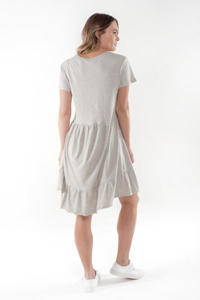 Brooklyn Dress - Grey