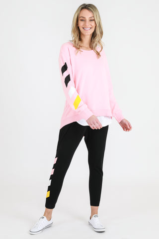Gisele Sweater - Flamingo Pink