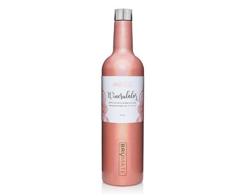 CHRISTMAS DELIVERY - WINESULATOR™ by BrüMate | GLITTER PEACH