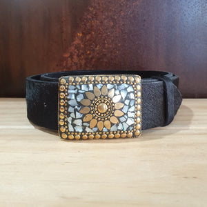 Mosaic Belt - Black
