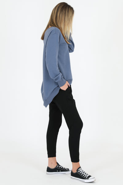 Newhaven Sweater - Blue Stone