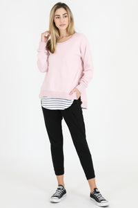 Ulverstone Sweater - Blush