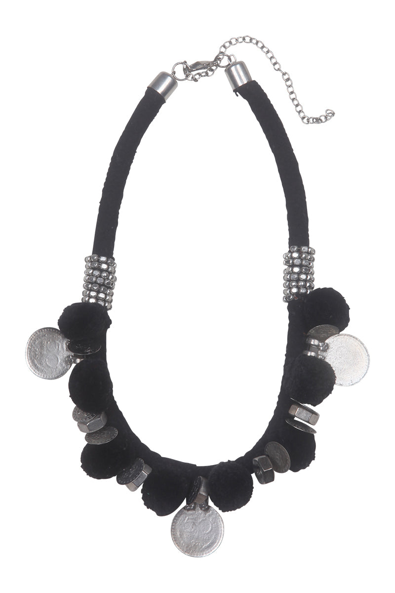 Malapo Necklace - Jet